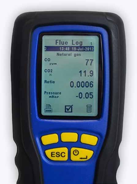 Flue Gas Analyser Calibration